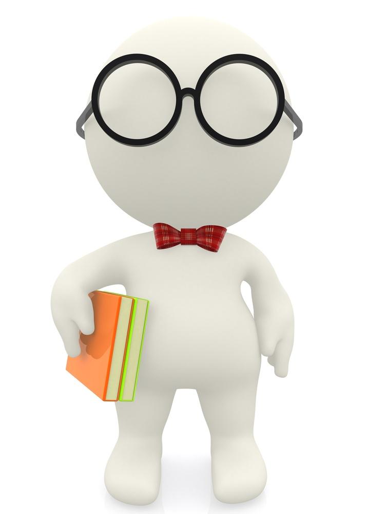 3D cartoon nerd wearing glasses an a bowtie - isolated.jpeg